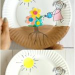 Growing Flowers Craft for Kids
