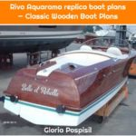 Riva Aquarama replica boat plans — Classic Wooden Boat Plans