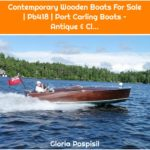 Contemporary Wooden Boats For Sale | Pb418 | Port Carling Boats – Antique & Cl...