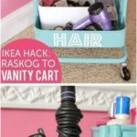 50+ Trendy makeup organization ideas ikea desks#desks #ideas #ikea #makeup #orga...