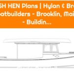 MARSH HEN Plans | Hylan & Brown – Boatbuilders – Brooklin, Maine – Buildin...