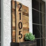 15 Creative House Number Ideas to Improve Curb Appeal