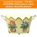 Luxuries for the Home - THE WELL APPOINTED HOME planters, indoor planters, decorative planters