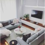 Scandinavian ideas; gray living room; cozy living room decor; modern w ...