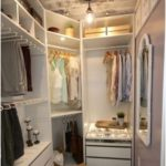Master closet with vanity walk in 58+ New ideas