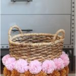 34 DIY Boho Decor Ideas - DIY Boho Decor Ideas - DIY Pom Pom Basket - DIY Sch ...