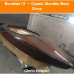 Banshee 14' — Classic Wooden Boat Plans