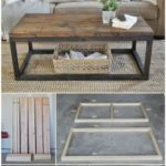 Wood Table Industrial Diy Projects 17+ Ideas - #ideas #industrial #projects #tab...