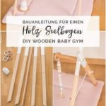 Building instructions for a DIY wooden play bow in Scandinavian style - youdid