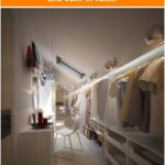 Holy Moly - great walk-in closet for the attic. I love the lighting and built-in vani…