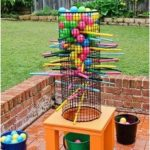 Make this fun backyard game to enjoy all summer! - #Backyard #enjoy #Fun #Game #...