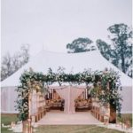 25 Trending Tented Wedding Reception Ideas for Outdoor Wedding Ideas - EmmaLovesWeddings