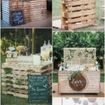 24 DIY Country Wedding Ideas with Pallets to Save Budget - EmmaLovesWeddings