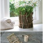 25 cheap and easy home improvement and garden projects with sticks and branches - upcycling blog