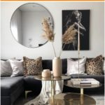 #Gold #havenlylivingroom #black #and #living room black and gold living room