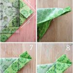 Simply sew handmade Mitered Corners napkins