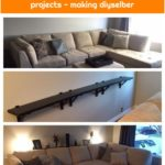 20+ creative behind the couch DIY projects - making diyselber