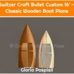 Switzer Craft Bullet Custom 16' — Classic Wooden Boat Plans