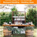 18 Perfect Wedding Drink Bar and Station Ideas for Fall Weddings Backyard Wedding - Wedding Ideas