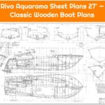 Riva Aquarama Sheet Plans 27' — Classic Wooden Boat Plans