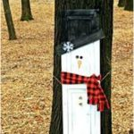 Repurposed Snowman Shutter - Redhead Can Decorate This Repurposed Snowman Shutt...