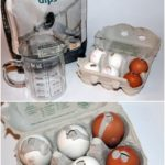 DIY plaster / concrete eggs Easter decoration very easy to make yourself