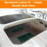 Barrelback Custom 19' — Classic Wooden Boat Plans