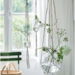 Ideas for hanging plants indoors; DIY hanging plants; window ...