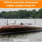 1939 24 greavette streamliner classic wooden boats for