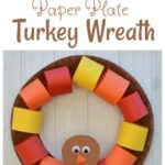 Paper Plate Turkey Wreath Craft