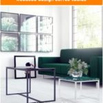 Reduced design coffee tables