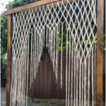 Outdoor Wedding Arch Macrame & Decor Boho Decor Wedding Background Curtain ...