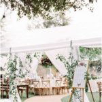 16 Gorgeous Wedding Entrance Decoration Ideas for Outdoor Tent Weddings - EmmaLovesWeddings