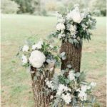 How To Have a Cool Garden Party Wedding - Wedding flower arrangements