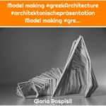 Model making #greekArchitecture #architektonischepräsentation Model making #gre...