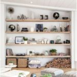 If a low storage space below the TV were just a shelf, it could be boxes, boxes ... - furnishing ideas