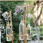Make sweet wedding decorations yourself Outdoor wedding | Garden wedding decoration ba… - Decorating Ideas
