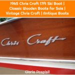 1965 Chris Craft 17ft Ski Boat | Classic Wooden Boats for Sale | Vintage Chris Craft | Antique Boats