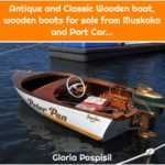 Antique and Classic Wooden boat, wooden boats for sale from Muskoka and Port Car...