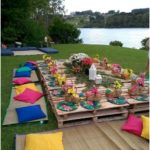 i like this idea # for #garden decoration ideas party #gardenpartydecorations ...