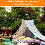 Children's tent in the garden: These glamping DIY projects create a holiday feeling in the back yard! - Latest decoration
