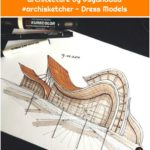 An attempt to design organic architecture by @syahdaud #archisketcher - Dress Models