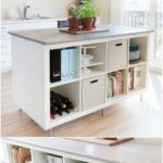 Check out this DIY kitchen island we made with old ikea bookshelves! The amo - io.net/decoration Dekor #decordiy - Decor Diy