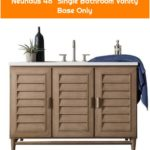 "Neuhaus 48"" Single Bathroom Vanity Base Only"