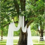 A simple yet romantic wedding ceremony - use the nature of your wedding outside ... - wedding ideas