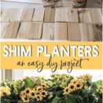 Build a simple window box with these easy plans. Simple wood shims are used to d...