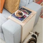 DIY - cat scratching table: coffee table and scratching furniture at the same time - Leelah Loves