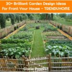 30+ Brilliant Garden Design Ideas For Front Your House - TRENDUHOME
