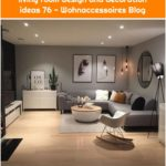 +43 The charm of contemporary living room design and decoration ideas 76 - Wohnaccessoires Blog