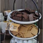 An S'Mores bar is an entertaining dessert for fireside celebrations. Great companions ...